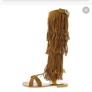 Cape robin shingle sandals w/matching Fanny pack